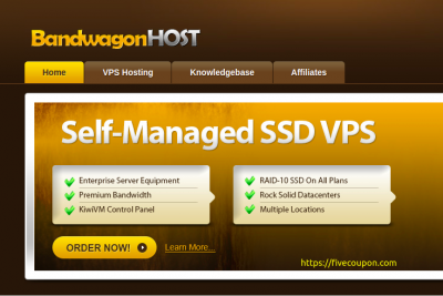 Bandwagon Host Special VPS Offers on September 2021 from $49.99/Year