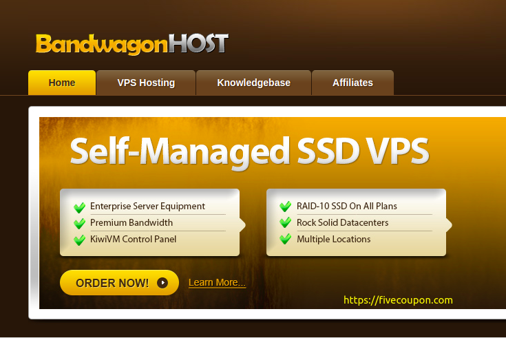 Bandwagon Host Special VPS Offers on May 2021 from $49.99/Year