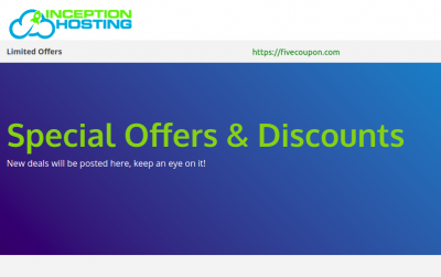 Inception Hosting Coupon May 2021 – 25% Off NVMe VPS Hosting