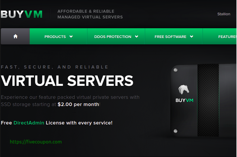BuyVM Coupon October 2021 – NVMe VPS from $2/month