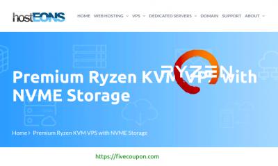 HostEONS Coupon October 2021 – $21/Year Gigabit KVM VPS