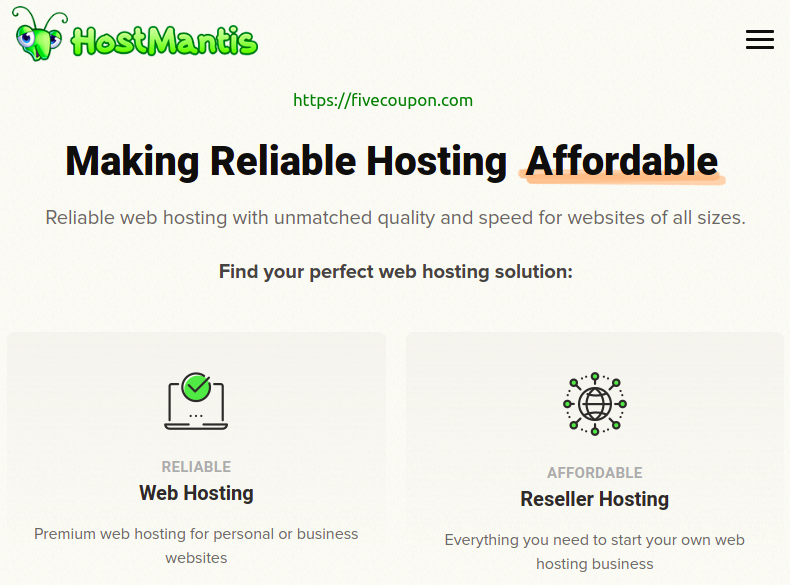 Save 75% OFF HostMantis Coupon & Promo Codes | October 2021
