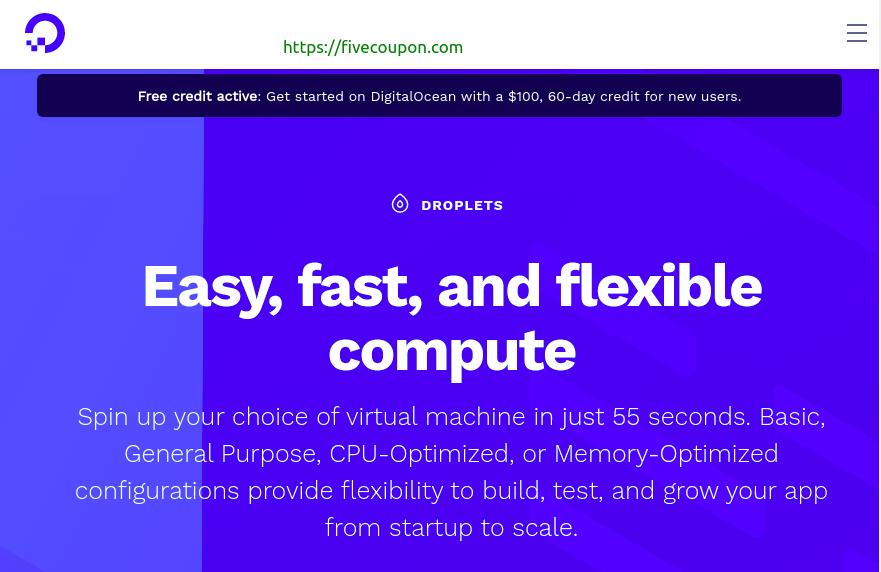 DigitalOcean Coupon on October 2021 – Free $100 Credits