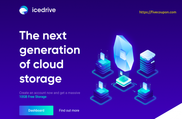 Icedrive Coupon on October 2021 – $99 Lifetime Cloud Storage