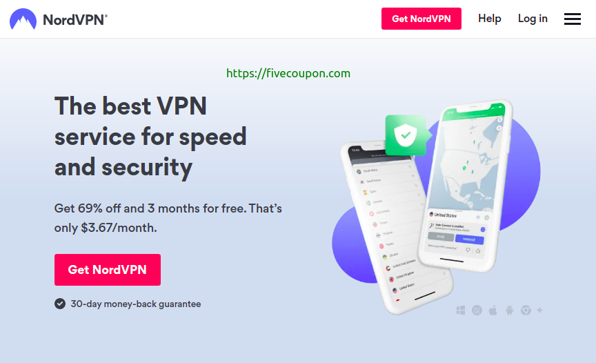 NordVPN Coupon Code on October 2021 – 60% Off